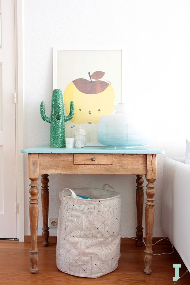 #1 Vintage table restyling