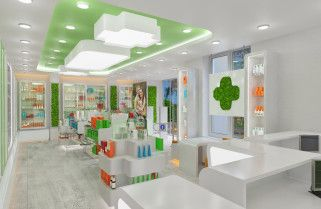 Аптека, ул. Ленина, Майкоп, 2015 « iDesign — студия дизайна интерьера в Краснодаре