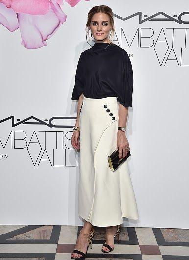 The Olivia Palermo Lookbook : Olivia Palermo at MAC Cosmetics and Giambattista Valli Party in Paris