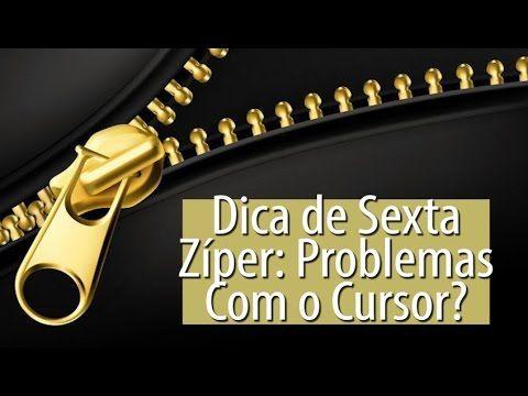ZÍPER: PROBLEMAS COM O CURSOR? -Dica de Sexta (Tutorial Patchwork) - YouTube
