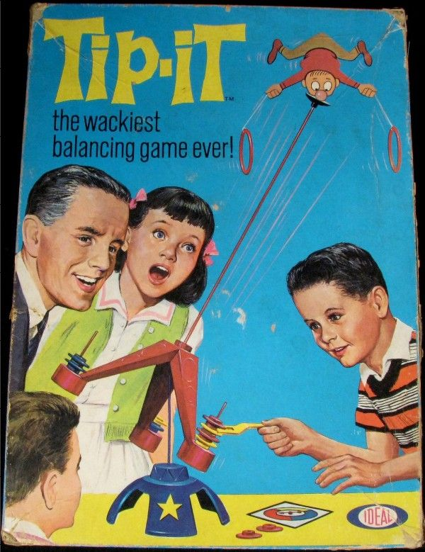 Tip-It!  Got it as a Christmas gift and had lots of fun in the 1965 timeframe...