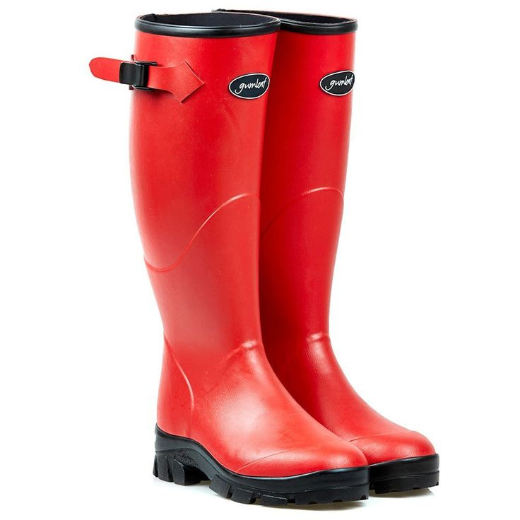 Gumleaf Ladies Red Norse Welly Boot >>> Check this awesome product by going to the link at the image.