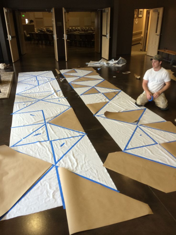 Creating Triangles | Church Stage Design Ideas