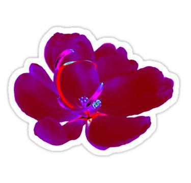 Neon Flower Sticker by StickerNuts