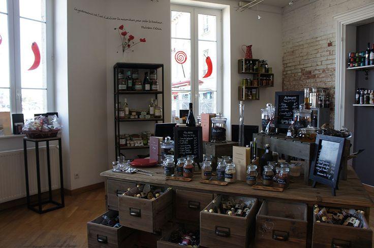la Boutik Moutig - Epicerie fine à Concarneau , Aménagement Souffle d'intérieur avec la collaboration de Karine Blot