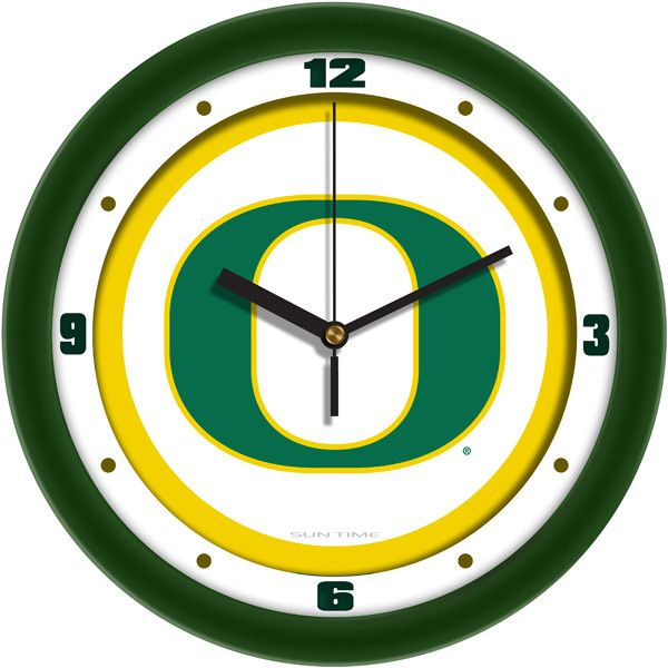 Traditional Wall Clock by Suntime Demonstrate your team spirit in your home or office with your favorite college logo. These 11.5 inch Traditional Logo Wall Clocks feature a battery-powered (1xAA batt