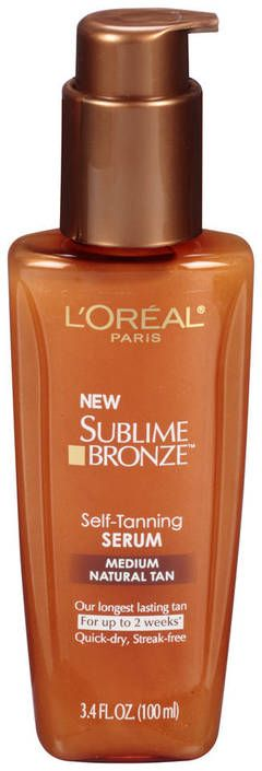L'Oreal Sublime Bronze Tinted Self-tanning Lotion, Medium Natural Tan - CVS.com