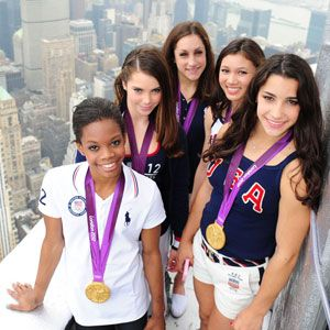 "Up 2 the Sky ! The "" Fierce Five "" Olympic Gymnasts Gabby Douglas, McKayla Maroney, Aly Raisman, Kyla Ross, & Jordyn Wieber"