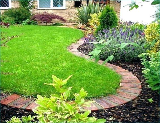 Lowes Landscape Edging Brick Edging Landscaping Concrete And Bricks Edging Garden Edging For A Knockout Lawn In Practical Ways Brick Edging Landscap Brick Garden