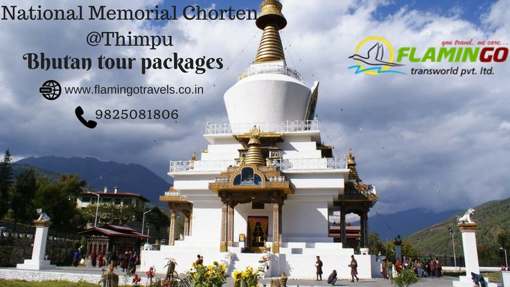 Visit National Memorial Chorten with #bhutantourpackage http://goo.gl/hUUVtD
