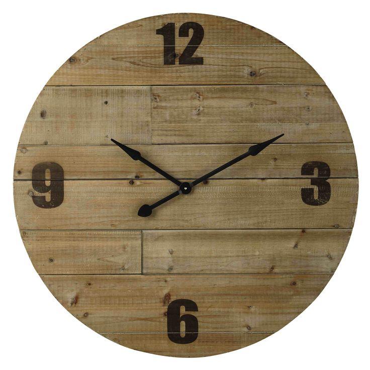 plus de 25 id es uniques dans la cat gorie horloge en palette sur pinterest horloges de bois. Black Bedroom Furniture Sets. Home Design Ideas