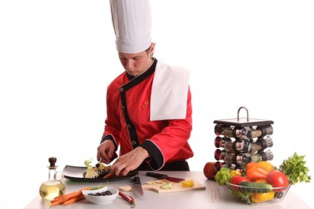 Chef Kok, Groente, Uniform, Man   Download gratis Foto's