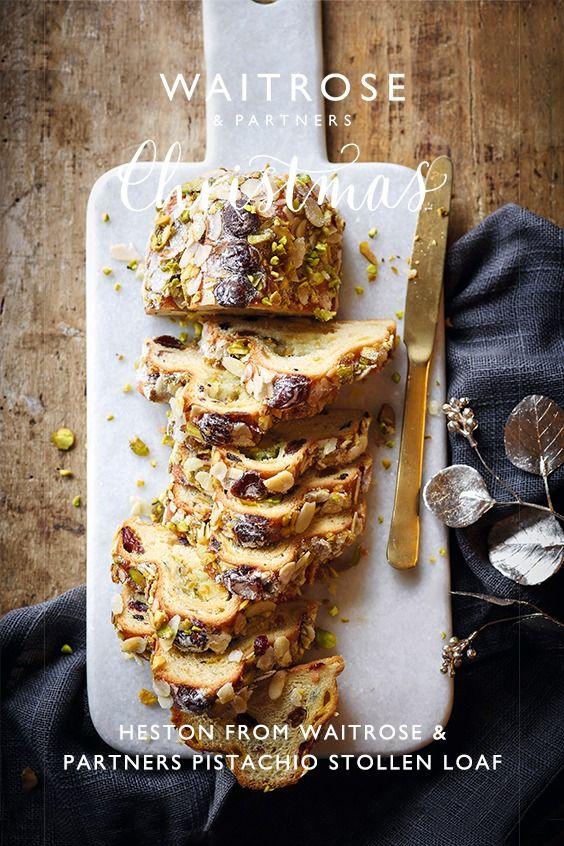 Heston from Waitrose & Partners Pistachio Stollen Loaf