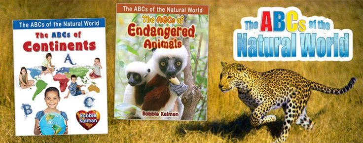 The ABCs of the Natural World series (Crabtree Publishing)_ Learning a subject through ABC books promotes creative writing and makes doing projects more interesting. Fun to read, this informative series from Bobbie Kalman is aligned to primary science curriculum and reinforces concept-specific vocabulary. Grades K-3