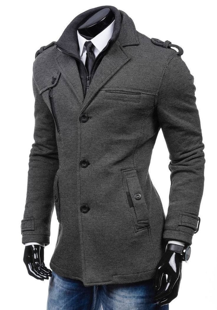 JUST BOY 8310 Cappotto uomo Giacca invernale caldo Felpa Colletto alto 4D4 Zip | eBay