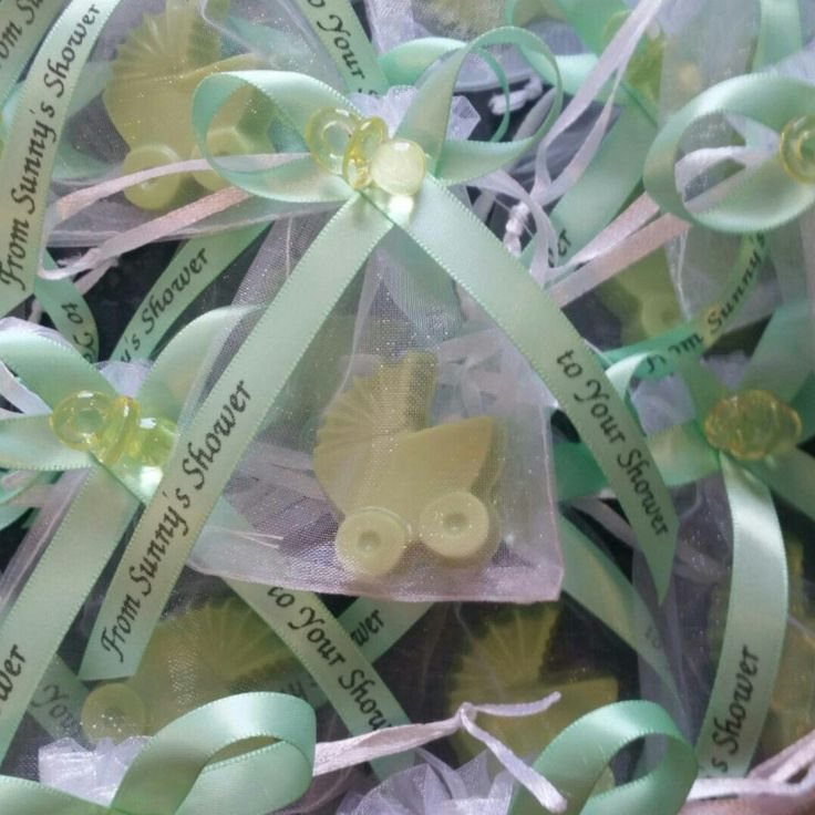 Baby Shower Party Favors   Custom Stroller Soap With Personalized Ribbons  For Gender Reveal Itu0027s A Boy Itu0027s A Girl | Pack Of 10