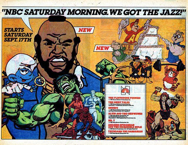 saturday morning cartoon ads | Saturday Morning Cartoon AD NBC 1983 | Flickr - Photo Sharing!
