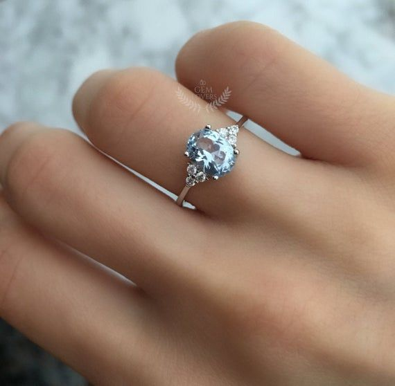 Natural White Topaz Ring,Solid 18K Gold Ring,Anniversary Gift,Engagement Ring,Mother/'s Gift,Ring For Lover,Propose Ring,Handmade Ring