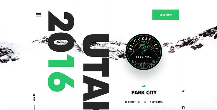 Epicurrence No. 3 — Park City, UT - Site of the Day January 15 2016