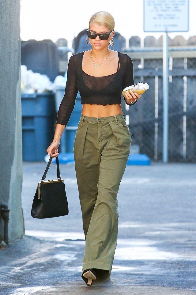 Celebrity Street Style Sofia Richie Handbag Bad Fashion Handbags