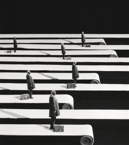 Gilbert Garcin photography