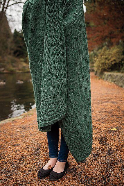 Ravelry: Stornoway Throw pattern by Anita Grahn