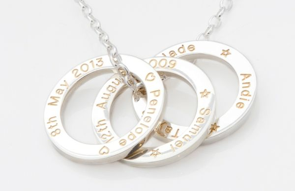 Picture of TREASURE | Silver | Gold Filled Engraving