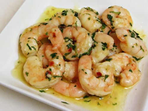 Shrimp Scampi (accompaniment to Prime Rib holiday dinners) - Home Cooking Memories