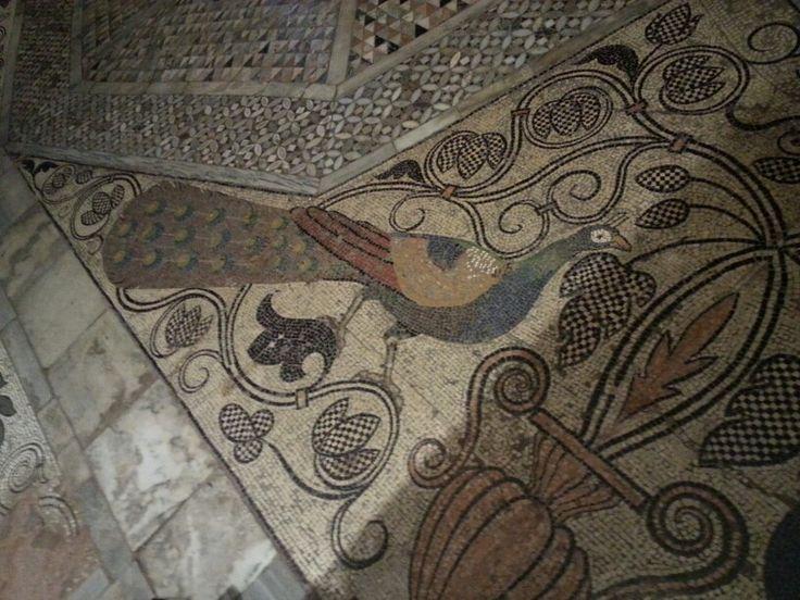 Basílica de San Marcos. Mosaico del suelo.
