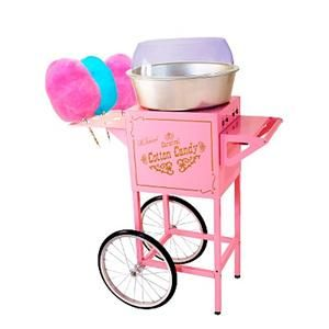 cotton candy!!! if she was older I would totally go all out and get a cotton candy machine! and it must be cute like this one!