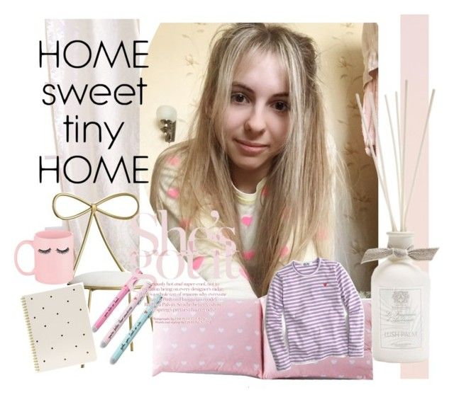 """""""Bright inside 👛💋"""" by catalina-joy on Polyvore featuring interior, interiors, interior design, home, home decor, interior decorating, Sweet Dreams, PBteen, Sugar Paper and Lala + Bash"""