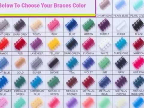 Braces Color Selector How To Choose Colors For Your