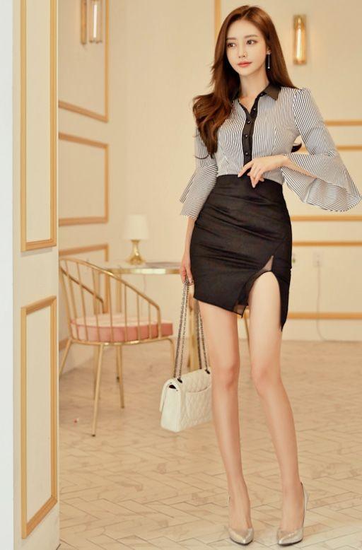 son youn ju classic outfits pinterest beaut asiatique demoiselle et asiatique. Black Bedroom Furniture Sets. Home Design Ideas