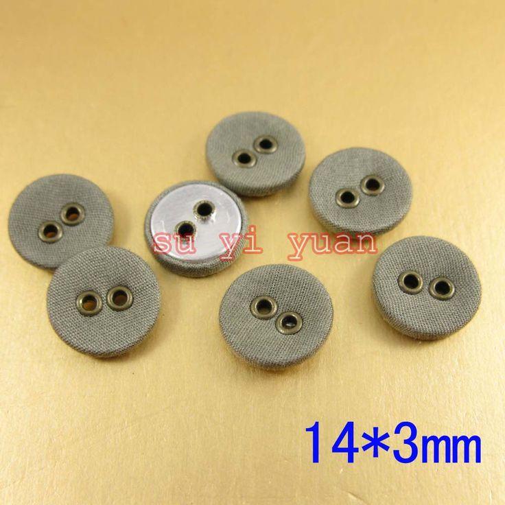 Около 13 мм * 3 мм 40 шт./лот алюминиевое дно ткань покрыта кнопка швейные аксессуары для одежды