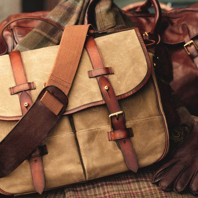 Canvas Messenger Bag by Polo Ralph Lauren