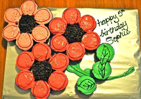 Flower cupcake cakeCupcakes Cake, Cute Cupcakes, Cupcakes Ideas, Cupcakes Flower, Cakes Cupcakes, Cute Ideas, Cake Ideas, Flower Cupcakes, Cupcake'S Idease Jpg