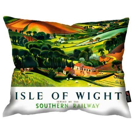 National Railway Museum Isle of Wight Cushion