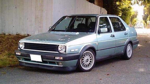1990 VW Jetta GLI - such a great design