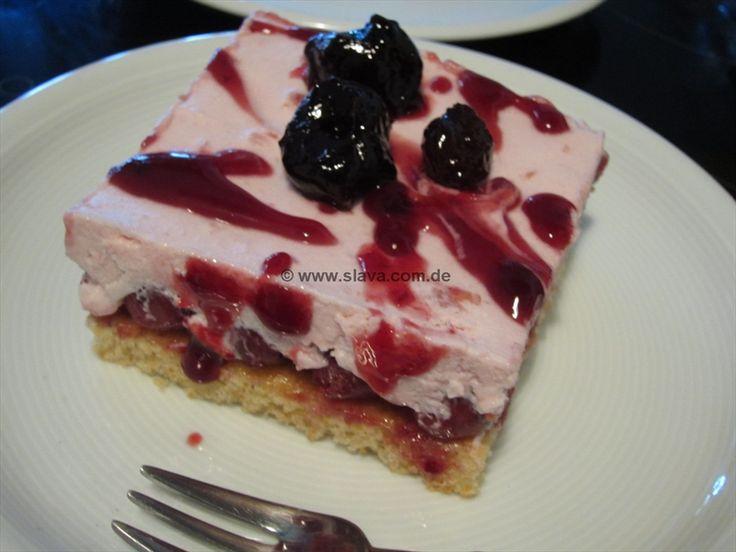 schnelle Fruchtjoghurtschnitte « kochen & backen leicht gemacht mit Schritt für Schritt Bilder von & mit Slava