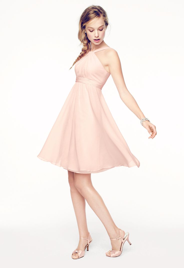Y Neck Bridesmaid Dresses 76