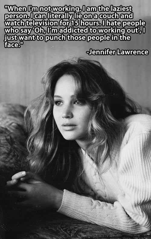 Jennifer Lawrence, marvelous