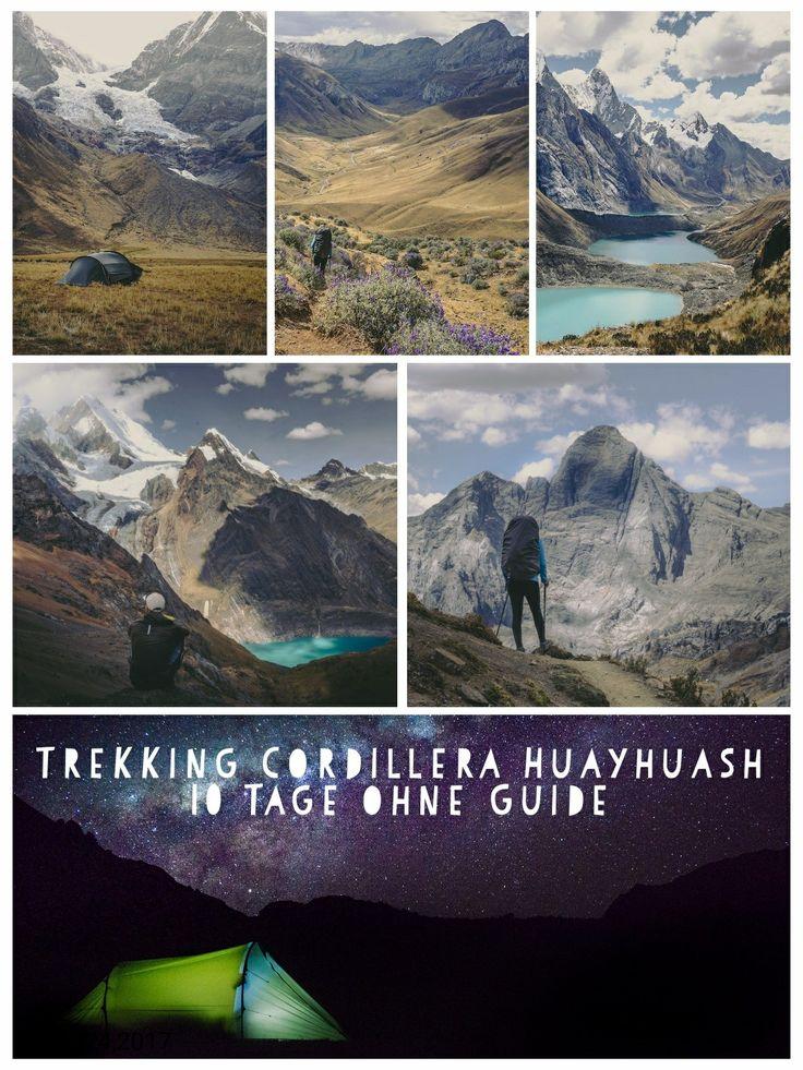 10 Tage Trekking in der Cordillera Huayhuash ohne Guide...