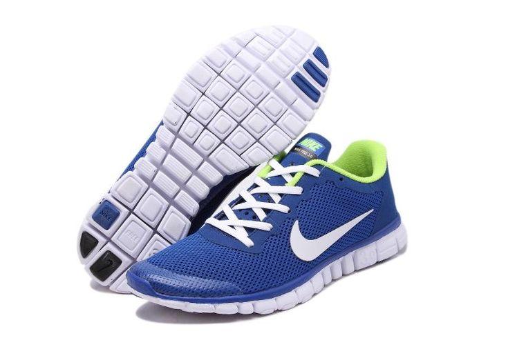 Nike Free 3.0 v2 Homme,nike noires,chaussure marathon -