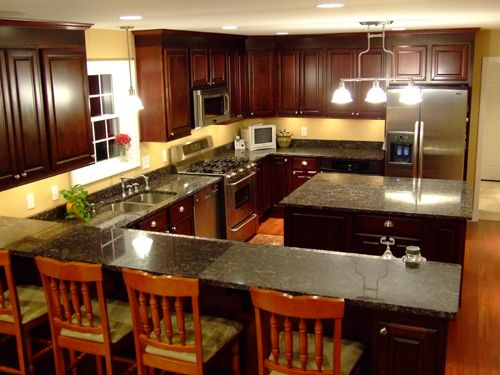 Find This Pin And More On Transitional Kitchen Inspiration By Galaxiehome.  Where To Find Kitchen Cabinet Layout ...