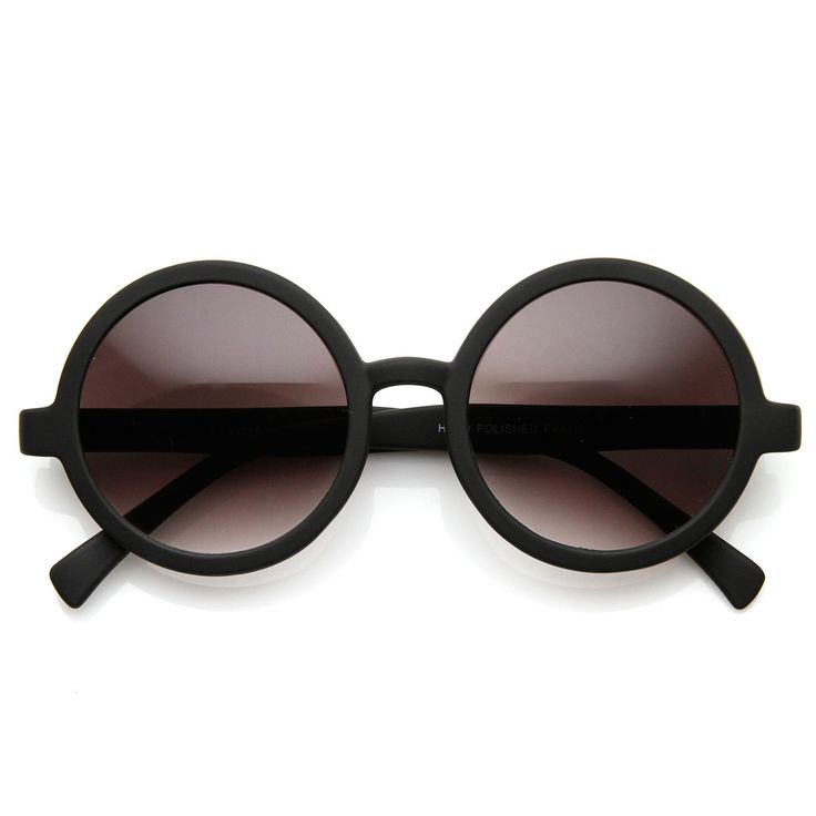 Cute Mod-era Vintage Inspired Round Circle Sunglasses