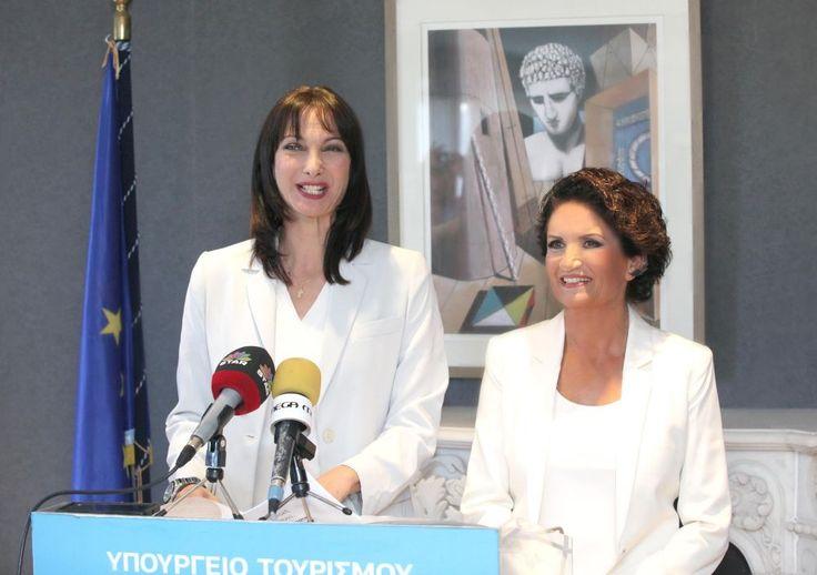 Singer Alkistis Protopsalti Assumes Duties of Greek Interim Alternate Tourism Minister