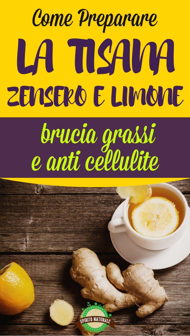 bevanda dietetica zenzero e limone