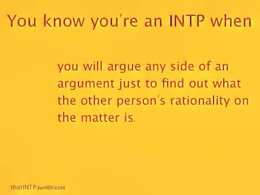 really INTP!