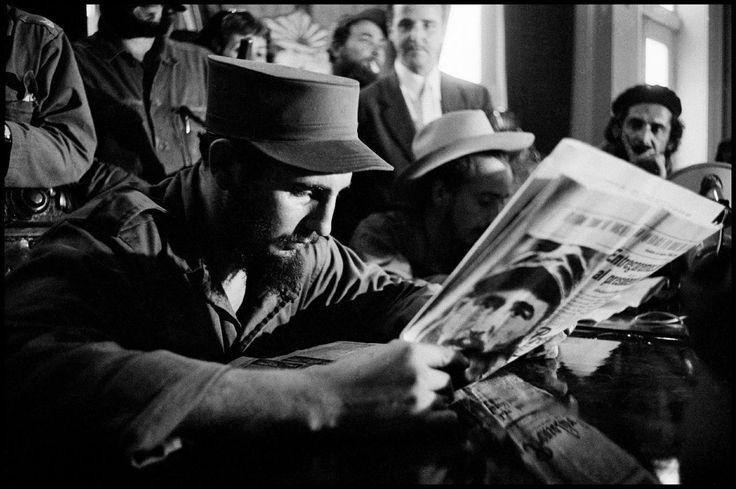 (1) Fidel Castro dans l'œil des photographes de l'agence Magnum - Libération