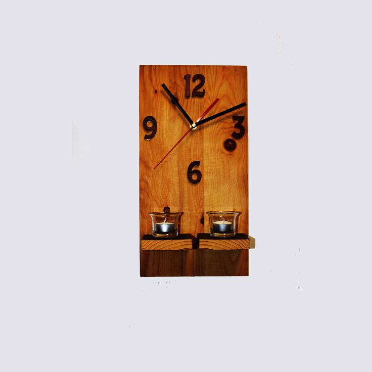 #etsy shop: Wooden wall clock gift for parents, gift for wife, gift for husband, gift for friends http://etsy.me/2ooxZUT #housewares #clock #entryway #wallclock #woodenclock #handmadeclock #giftforhouse #giftforparrents #giftformom